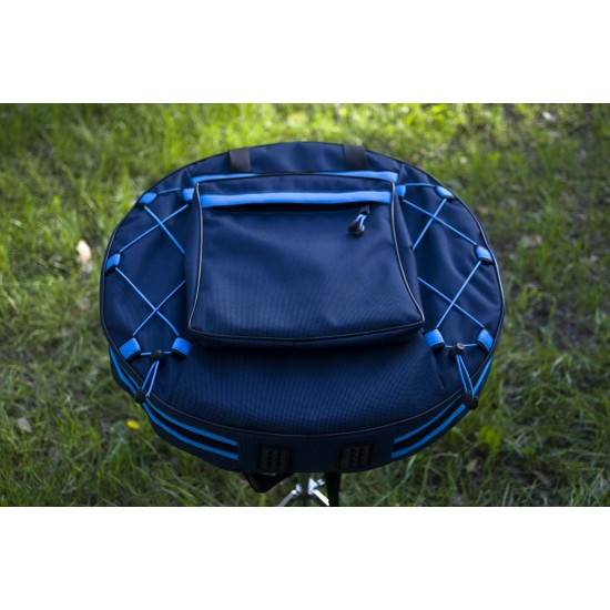Backpack for tongue pans and tongue drums 4