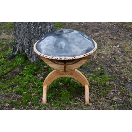 Orbis wooden stand for hanpans photo 4