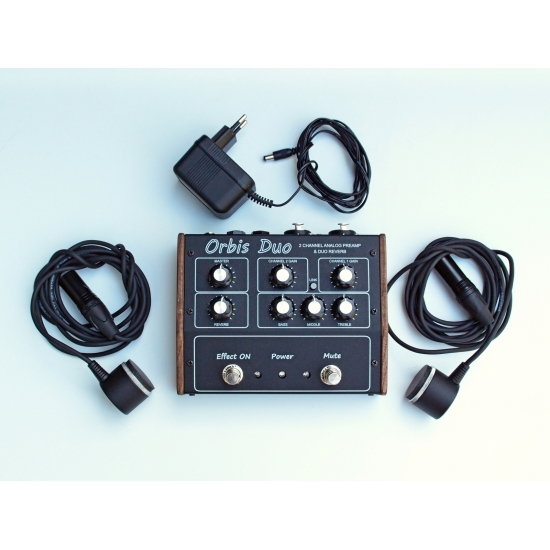 Professional Handpan mics and Preamp/EQ/Reverb photo 3