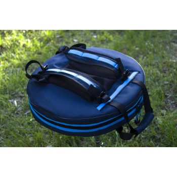 Backpack for tongue pans and tongue drums1 back